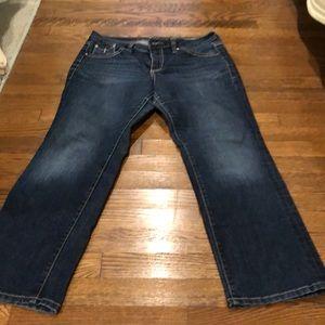 14P - Jag Jeans - mid-rise, straight leg